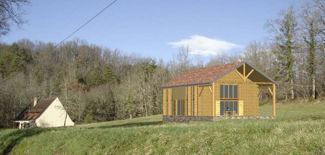 Architecte bois dordogne sarlat domme 24 for Habitation neuve